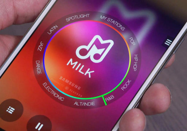 Samsung's Milk — Music to Your Ears