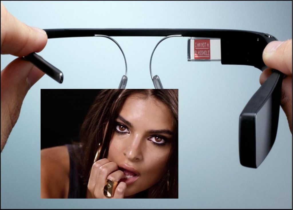 World's Coolest Lady Looks Great in Google Glass, Gets Beat Up