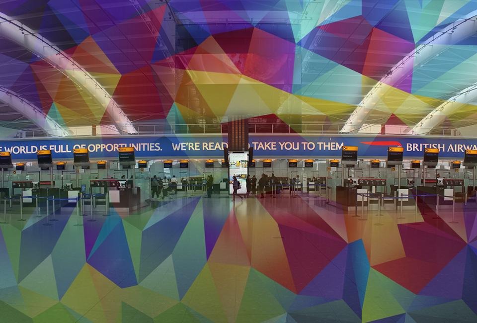 Samsung Rebrands Heathrow's Terminal 5