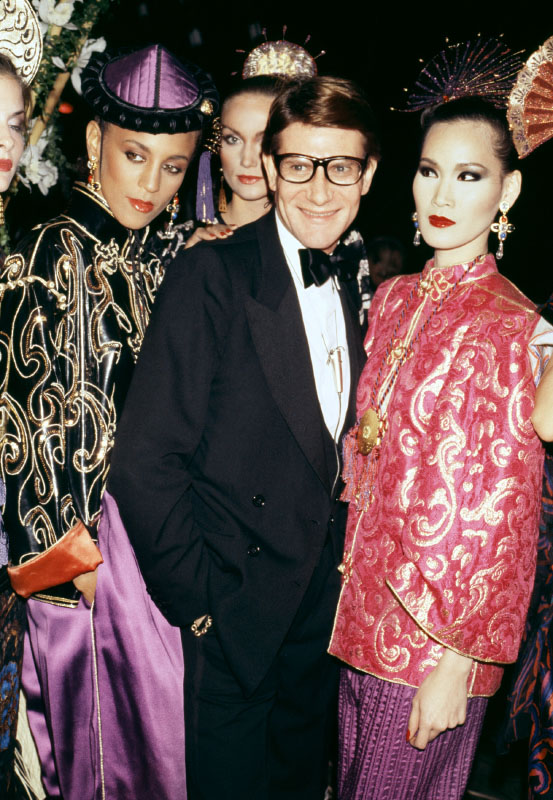 © YVES SAINT LAURENT by Roxanne Lowit, to be published by Thames & Hudson in November 2014 Photo © 2014 Roxanne Lowit. All rights reserved.