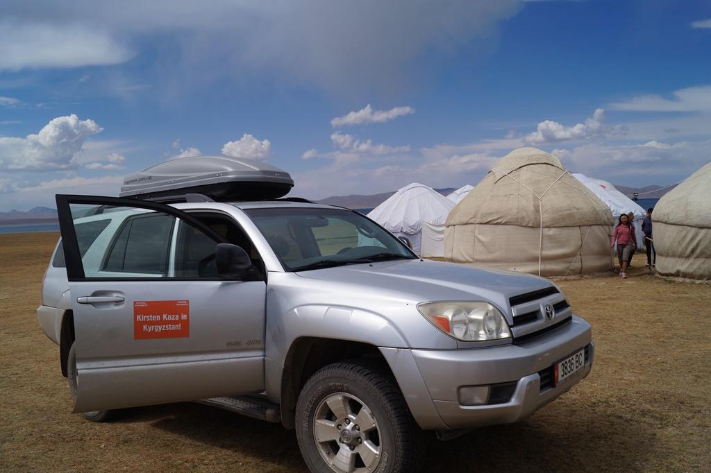 How I crossed Kyrgyzstan in 2014. (photo by Kirsten Koza)