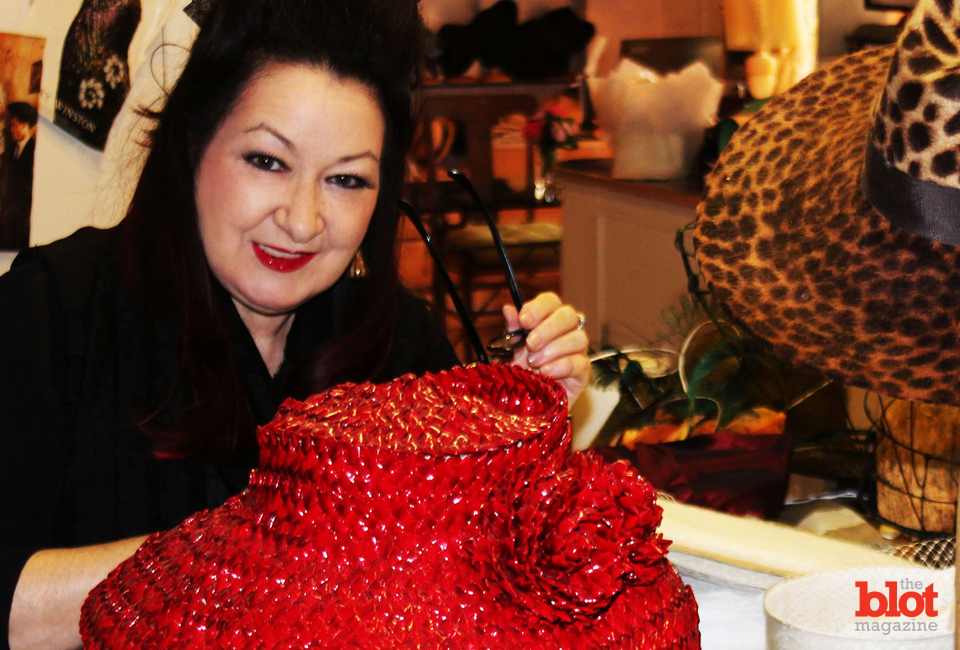 Milliner Ellen Christine is this month's Style Master — and there should be question as to why. (Photo by Gazelle Paulo)