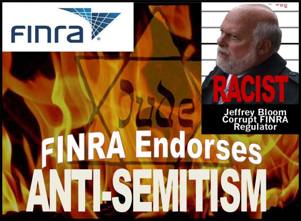 AEGIS CAPITAL CORP RUINED BY FINRA ANTISEMITISM
