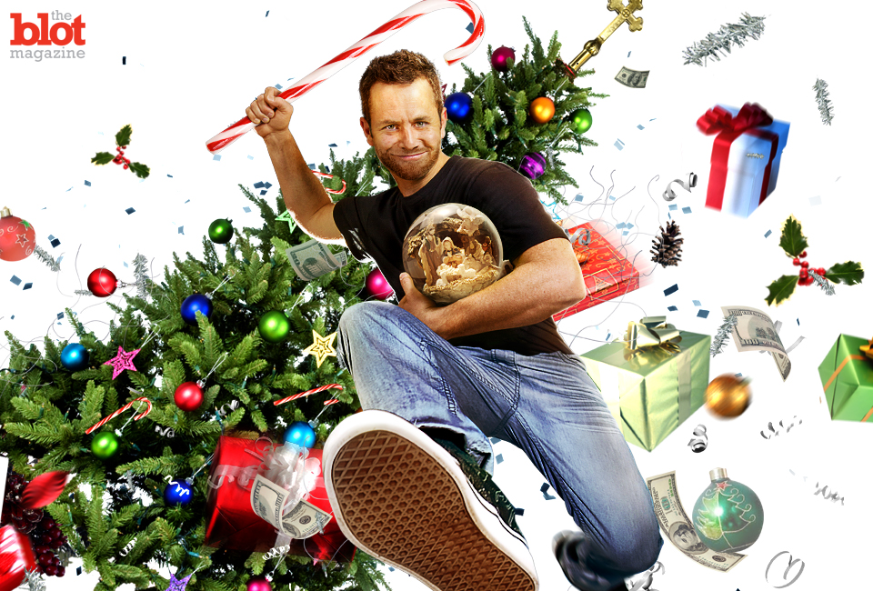 """Thank heavens we have """"Kirk Cameron's Saving Christmas"""" to remind us what the season's all about: Rightfully lambasting 'Kirk Cameron's Saving Christmas.'"""