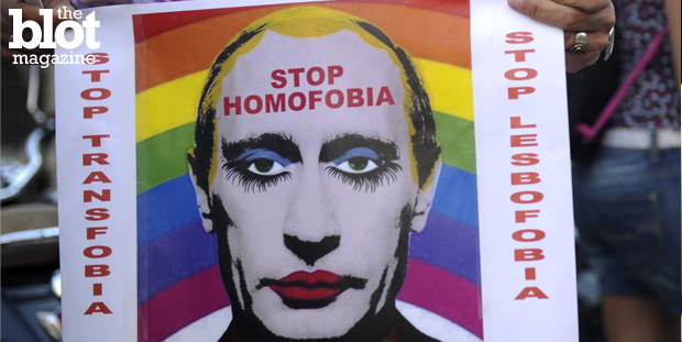 In its latest anti-gay move, Russia banned transgender and transsexual people from obtaining driver's licenses — because they suffer a 'social disorder.' (independent.co.uk photo)