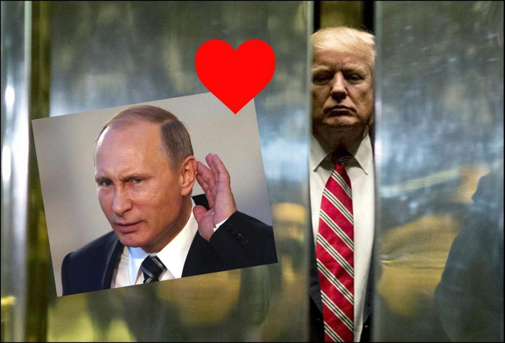 Trump Finds New Love, Admirer in Vladimir Putin