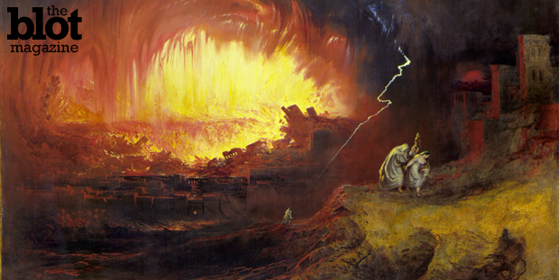 A California lawyer filed a proposed ballot initiative that would make the Golden State less Sodom and Gomorrah-y by putting gays and lesbians to death (Wikipedia photo of 'The Destruction of Sodom and Gomorrah' by John Martin, 1852)