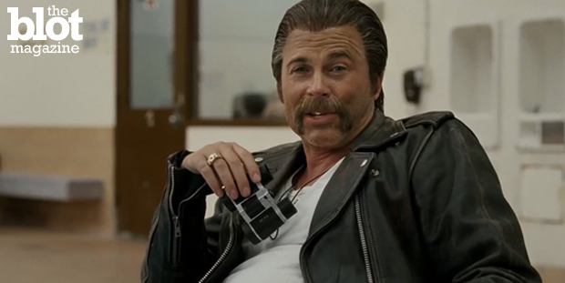 DirecTV's popular Rob Lowe ads were questioned by cable giant Comcast over the validity of its statements about cable's signal and customer service. (Screenshot courtesy DirecTV)