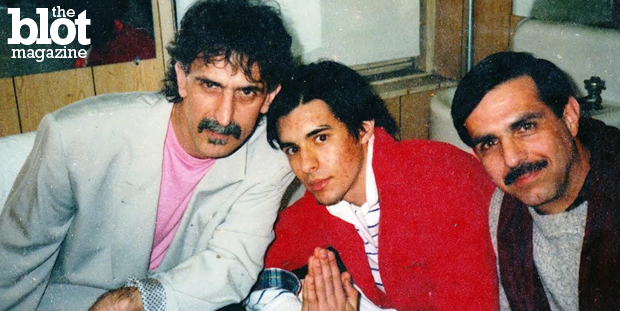 When chatting with Frank Zappa's brother Bob about his upcoming memoir, Dorri Olds got the scoop on one of music's most beloved and unusual characters. In above photo, Frank, left, sits with his nephew Jason, center, and his brother Bob, right. (Photo courtesy Bob Zappa)