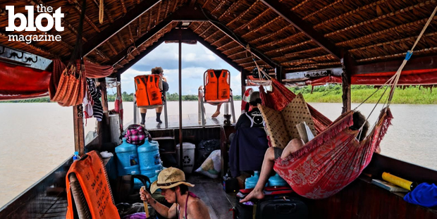 Piranhas, caimans and sloths, oh my! Kirsten Koza, TheBlot's adventure travel expert, tests an Amazon River trip and becomes hooked on piranha fishing ... (Photo by Kirsten Koza)