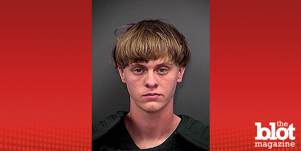 After the Charleston, S.C., tragedy Wednesday, Matthew Keys takes a look at why some mass shootings should — or shouldn't be — labeled 'terrorist attacks.' Above, the mugshot of the Charleston shooter, Dylann S. Roof, who confessed to killing nine parishioners. (Charleston County Sheriff's Department photo)