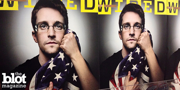 France is reeling from disclosures that the U.S. government spied on its leaders. Officials wonder if the docs came from a leaker other than Edward Snowden, who is seen above on copies of Wired magazine. (Mike Mozart/Flickr Creative Commons photo)