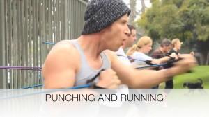 punching and running