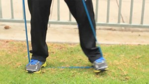 tiny step stiff leg
