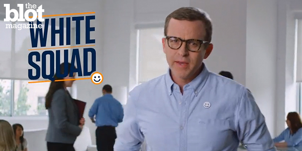 After seeing a commercial for White Squad, one can't help but wonder if it's a joke or a further reminder that racial inequality still has a long way to go.