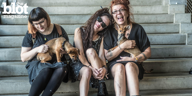 After 15 years, punk rockers Babes in Toyland reunited, and TheBlot caught up with singer Kat Bjelland and drummer Lori Barbero before the band's NYC show. (Photo by David Endicott)