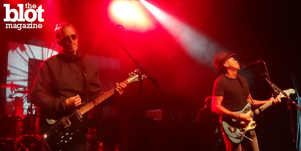 Brit shoegaze outfit Ride brought its roaring presence to New York's Irving Plaza for a two-day run this week. Here's Jason Gross' review of the show. (Photo by Jason Gross)
