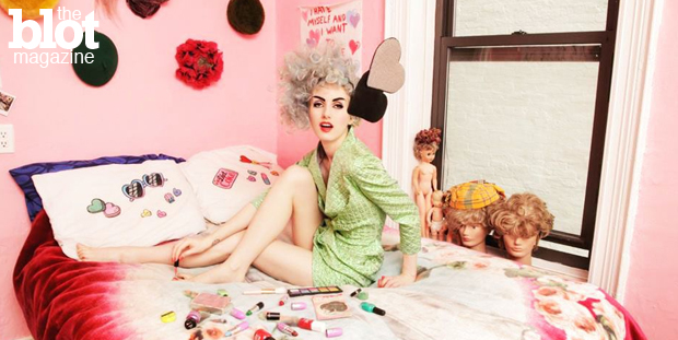 Designer Stella Rose Saint Clair proves style can be fun, sexy and positive — without being vulgar or desperate as many pop stars and celebs dress today. (Photo by Alexander Thompson)