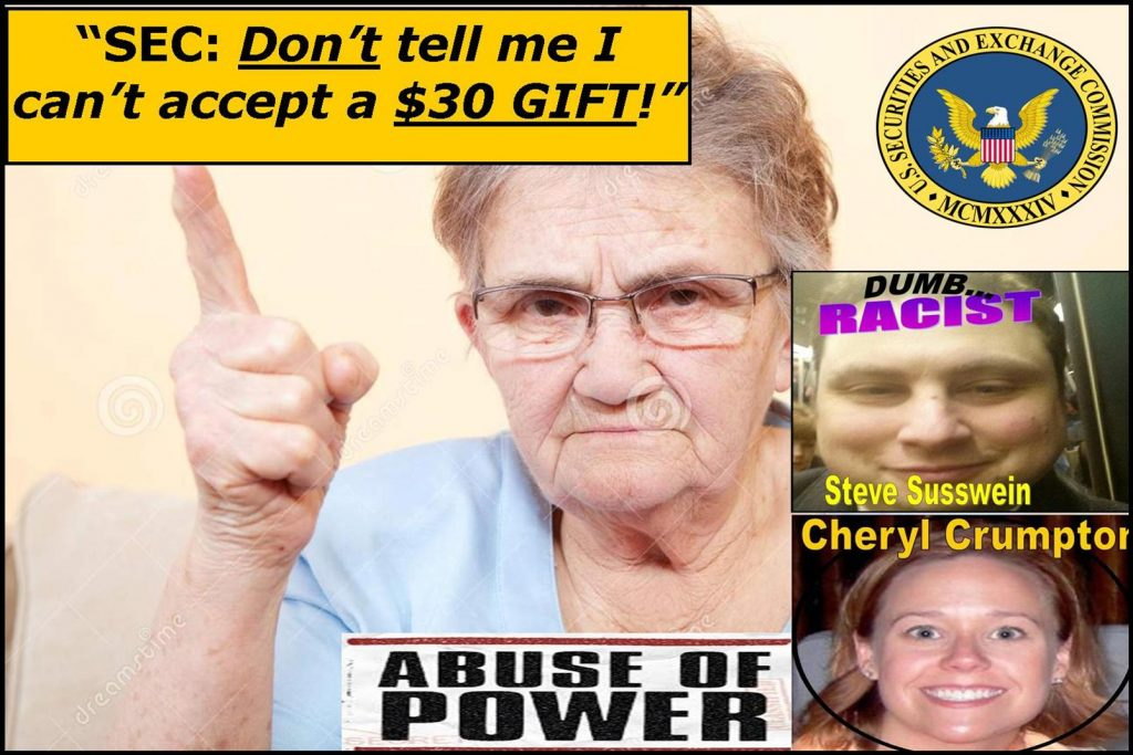 BOGUS-SEC-CHARGE-AGAINST-WILLIAM-UCHIMOTO-IS-A-30-GIFT-CHERYL-CRUMPTON-STEVEN-SUSSWEIN