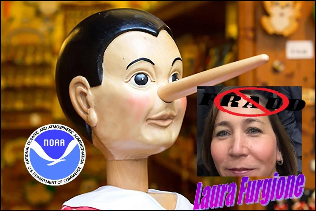 LAURA FURGIONE, NOAA ASSISTANT ADMINISTRATOR, WEATHER SERVICE, SHERRY CHEN, MULTIPLE FRAUDS
