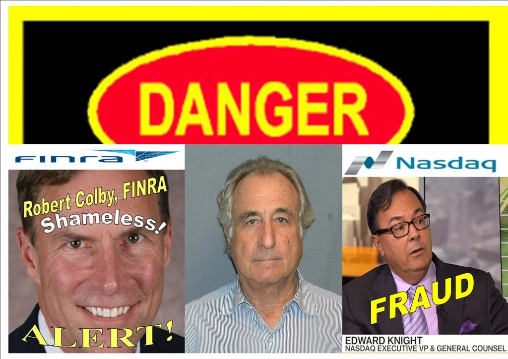 Fraud, Lies, How Nasdaq's William Slattery, FINRA's Robert Colby Lied to the FBI, Duped the Government