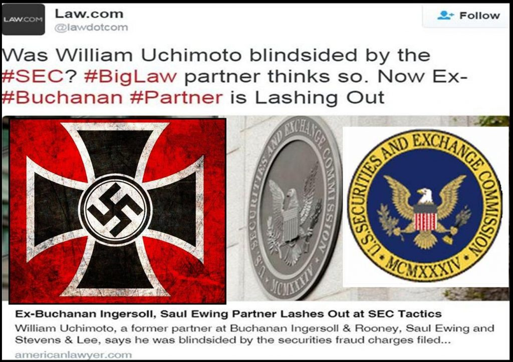BREAKING SEC Lawsuit Against Lawyer William Uchimoto Has Roots in Nazi Germany