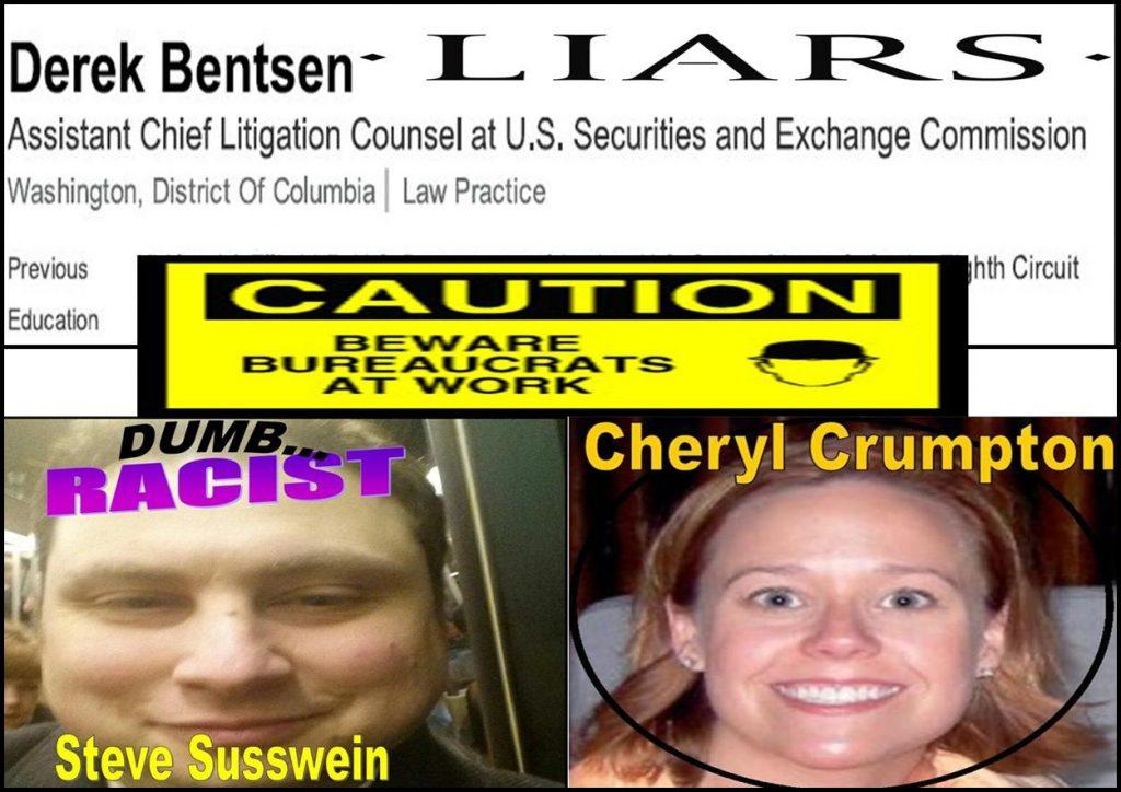 MELISSA HODGMAN, WILLIAM UCHIMOTO, Steven Susswein, Cheryl Crumpton, DEREK BENTSEN, SEC Enforcement, Fraud