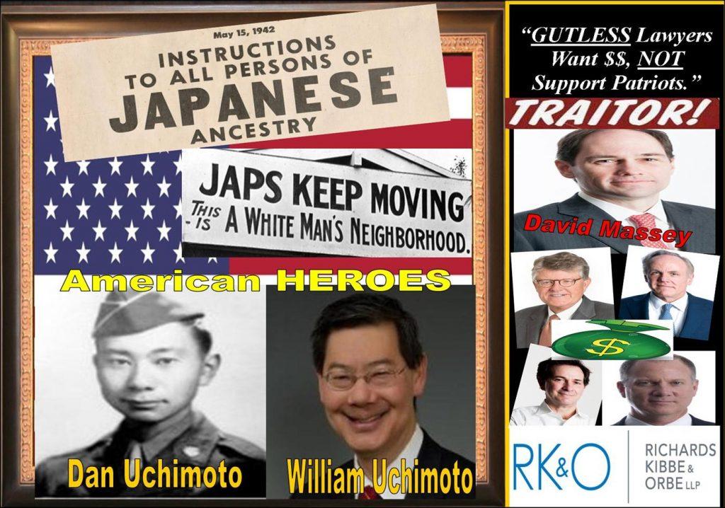 GREGORY MILLER, GENERAL COUNSEL, shareholder, BUCHANAN INGERSOLL ROONEY, DAVID MASSEY, LEE RICHARDS, Jon Kibbe, Bill Orbe, Richards Kibbe Orbe, Japanese American internment camp, racism