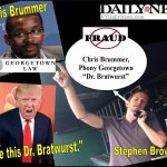 Stephen Rex Brown, NY Daily News Reporter Has Psychic Touch Exposing Georgetown Professor Chris Brummer Fraud