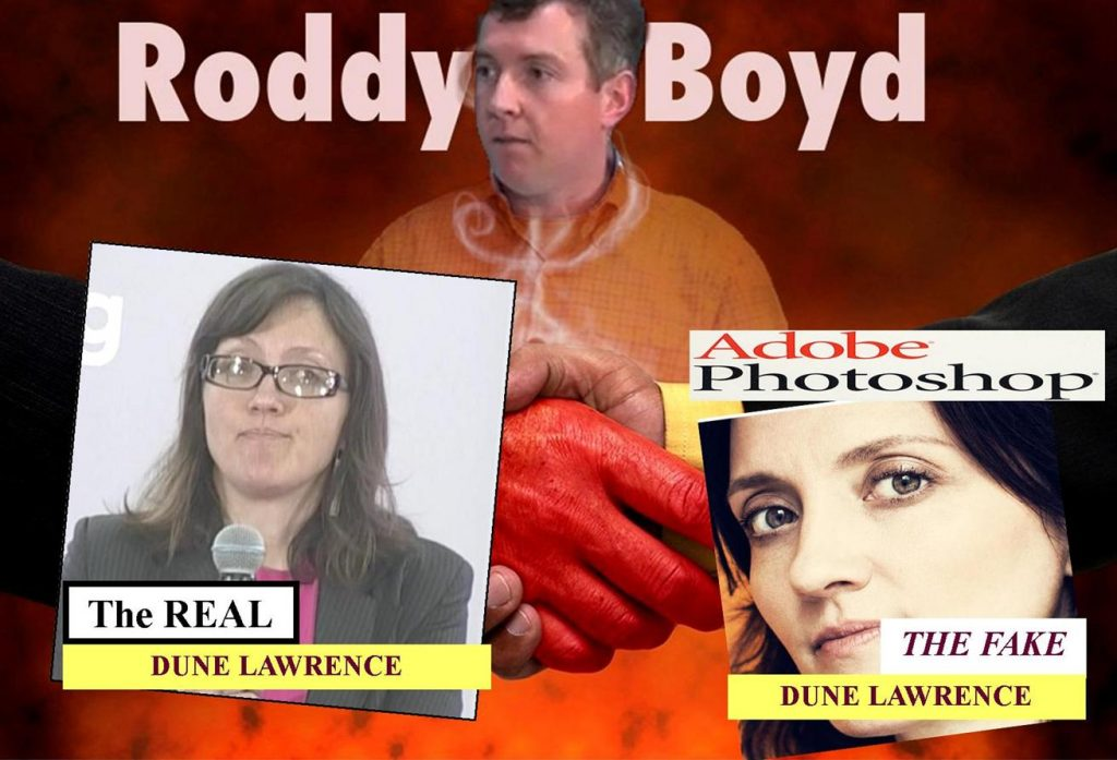 Dune Lawrence, Roddy Boyd, the Dating Drama of Two Tabloid Writers