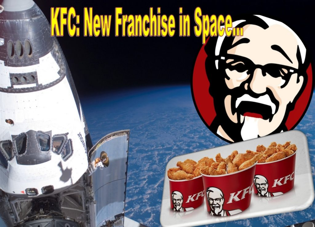 KFC Chicken Sandwich to Launch into Space, Opens New Franchise