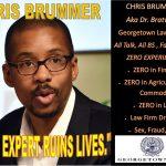 Meet Chris Brummer, Georgetown Law Center Dr Bratwurst, Fake Expert Exposed