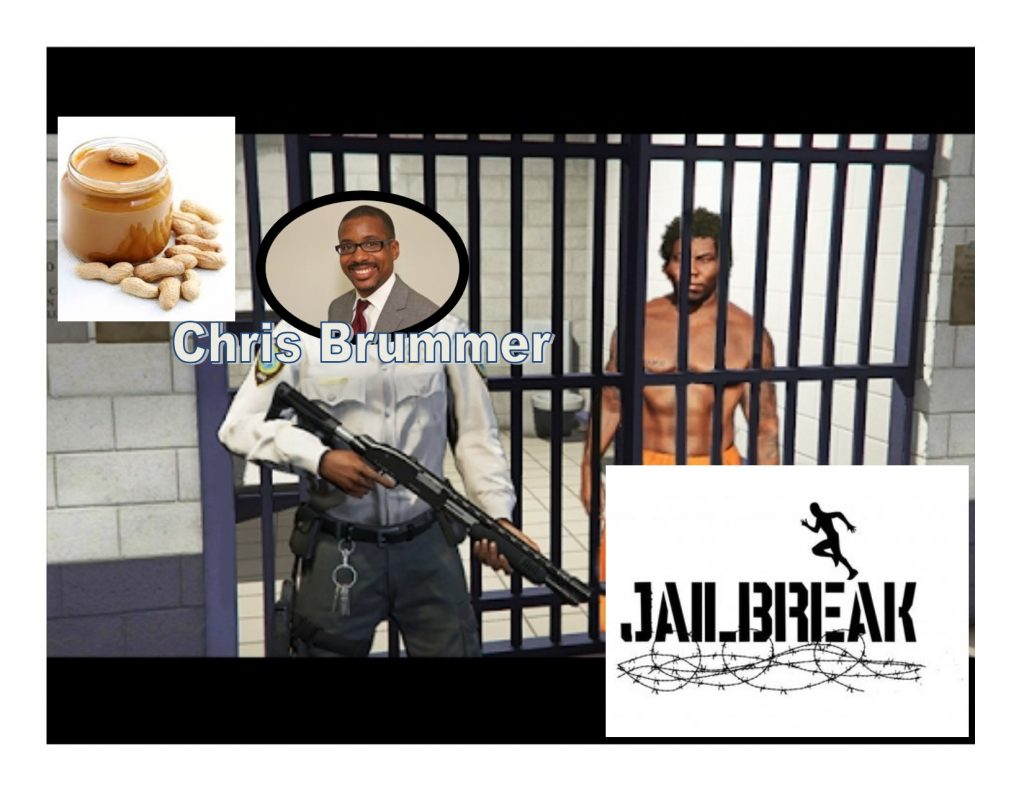 Abuser, Racist Guard Gets Tricked By Peanut Butter Jailbreak