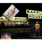 One Man Sausage Party at Waffle House as Man Enters Naked