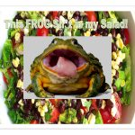 Salads From Target May Contain Frogs