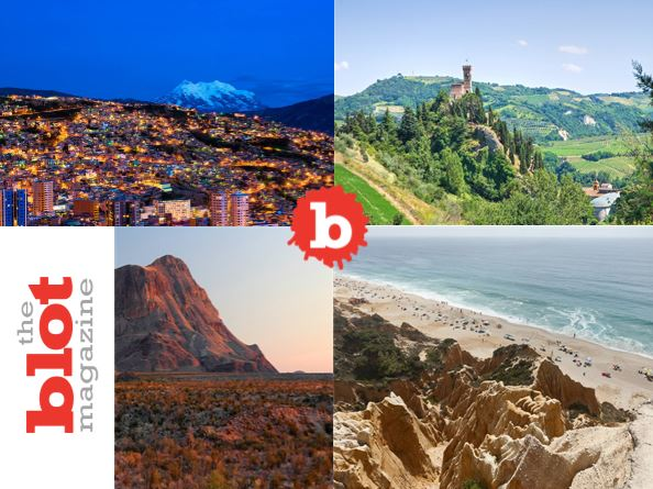 Top Ten Destinations in 2018 for Fun, Cuisine and Nature