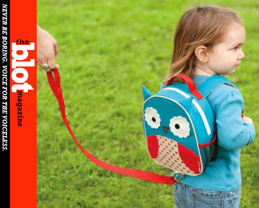 Using Child Leash, Harness on Precocious Kids Not Abusive