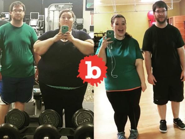 Couple Weighed a Ton, Diet Together Now Look Amazing