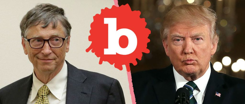 Bill Gates Reveals Trump Confused Between HIV and HPV