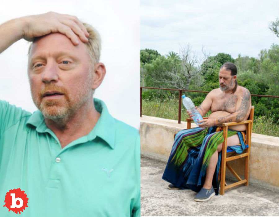 Hippy Squatters Take Over Bankrupt Boris Becker Mansion