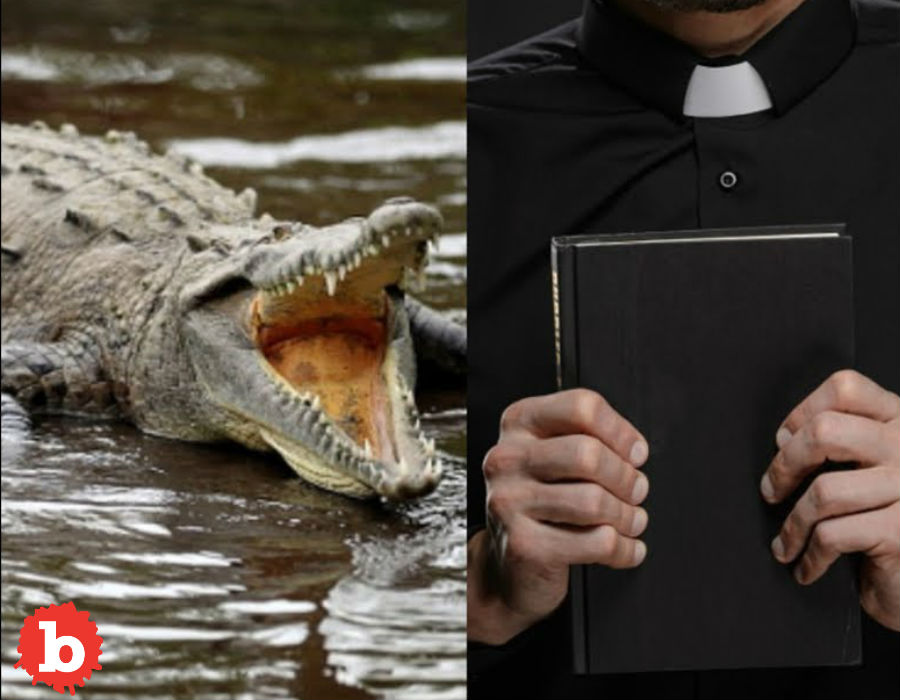 Protestant Minister Attacked by Crocodile at Baptism