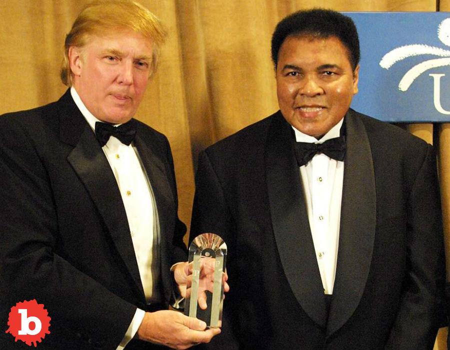 Trump Offers Muhammed Ali Pardon, Ali Lawyer Says No Thanks