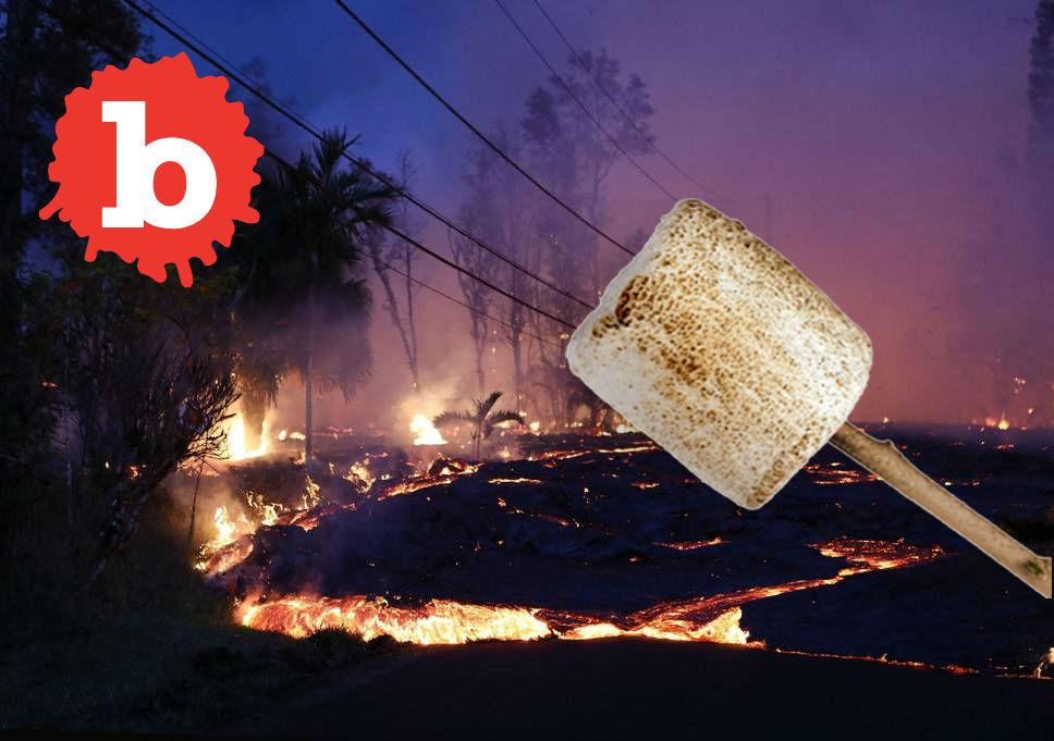 USGS Says No, Don't Roast Marshmallows Over Kilauea Vents