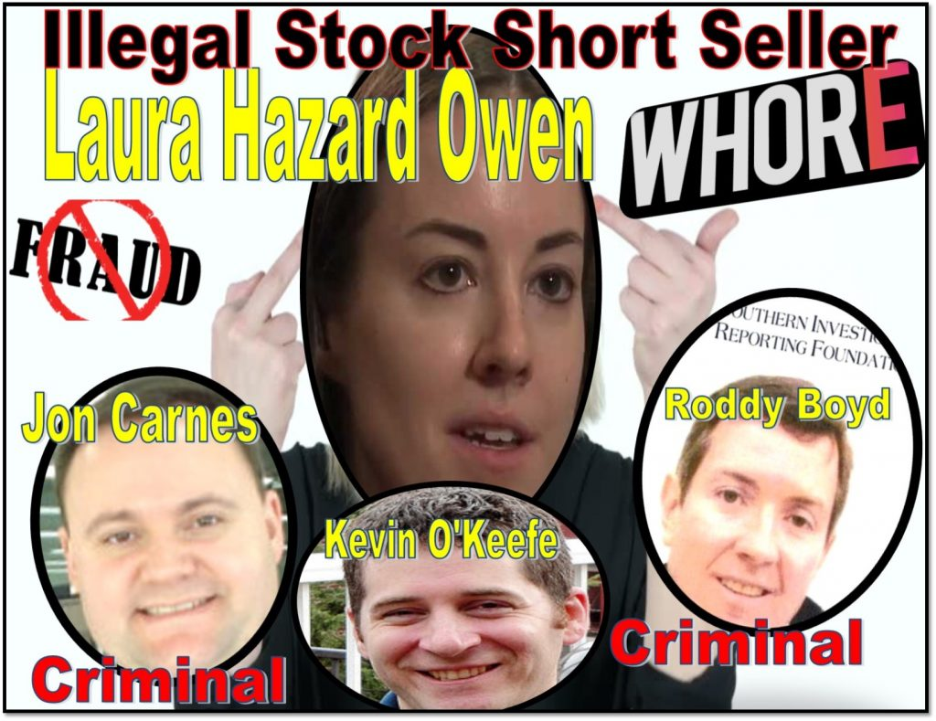 Kevin OKeefe, Laura Owen, Neiman Journalism Lab, Roddy Boyd, SIRF, Southern Investigative Reporting Foundation, stock short seller, Samantha Boyd, Bloomberg, Dune Lawrence, Mike Wilkens, KIngsford Capital