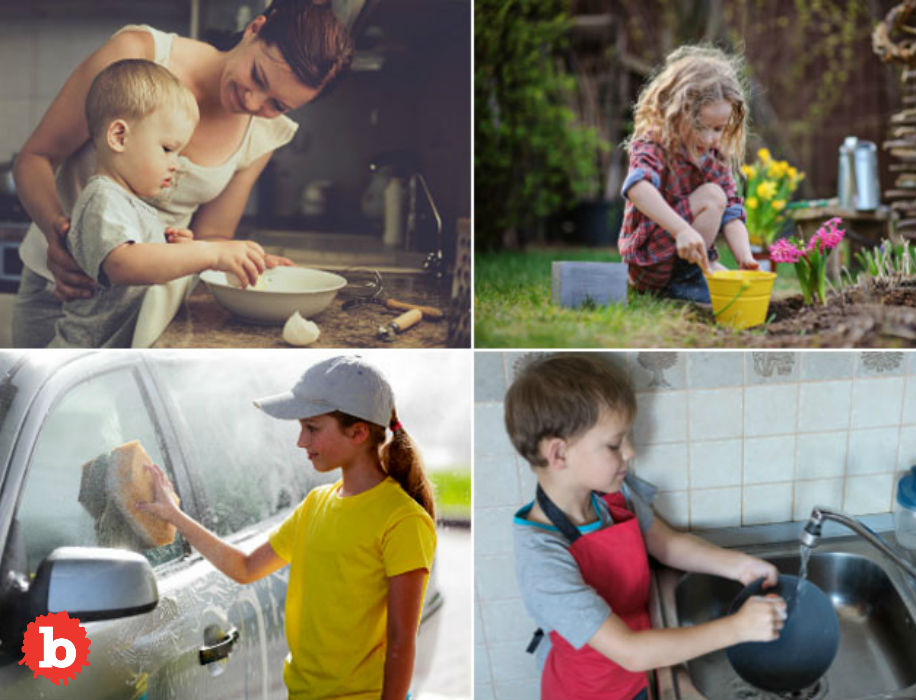 Child Labor is Good It's All About the Chores