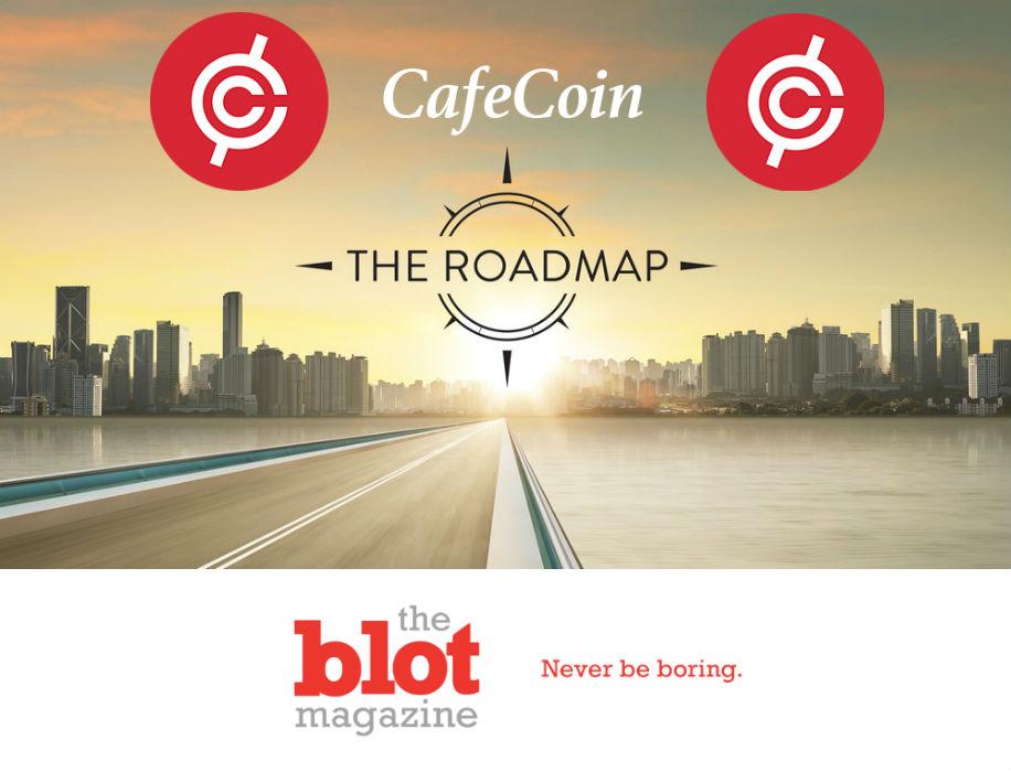 CafeCoin's Technology Development Roadmap and Blockchain Design