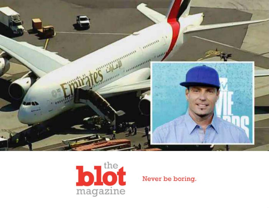 Dubai Flight Quarantined at JFK, Including Vanilla Ice
