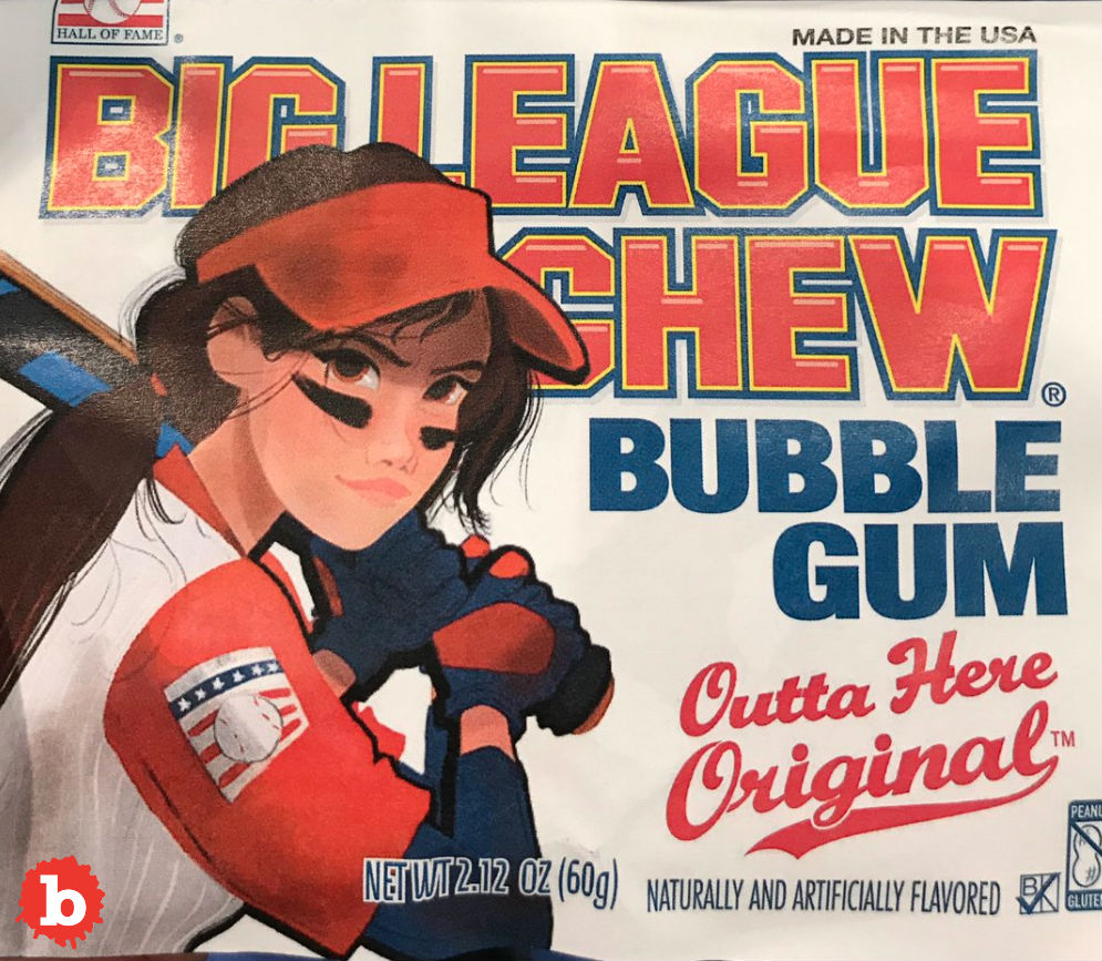 Big League Chew Makes Waves With First Female Cover