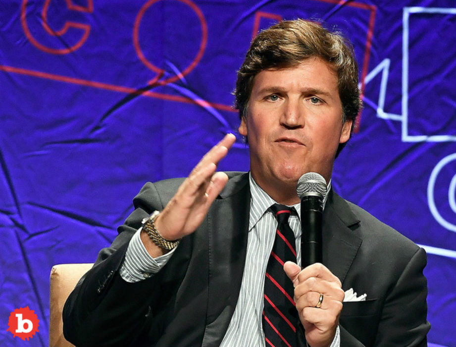 Tucker Carlson Scared, But Protesting House Mob Was 13 People