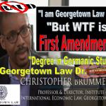 CHRIS BRUMMER, Georgetown Law Perv Professor Suffers Deadly Blow Against Free Speech, New York High Court Defends First Amendment